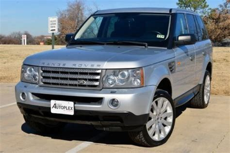 Find Used 2006 Land Rover Range Rover Sport Super Charged