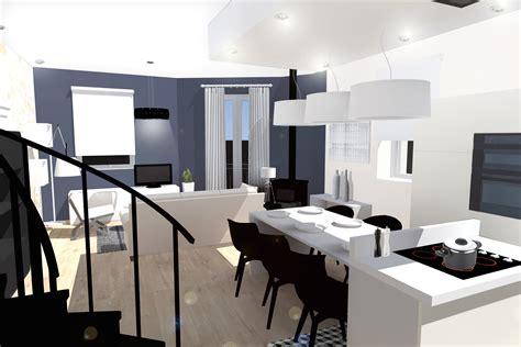 rideau separation cuisine salon salon cuisine ouverture mur cuisine salon gallery us