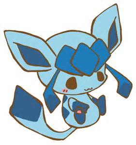 Cute Chibi Pokemon Glaceon