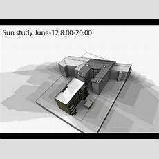 Solar Sun Study Tutorial Using Sketchup And Photoshop