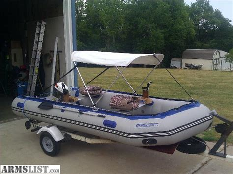 The Boat Motor And Trailer Have Weights by Armslist For Sale Trade Sea Eagle Boat Better Than Jon