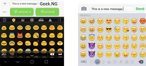 iphone android emoji change the boring default android emoji to ios emoji