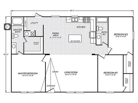 velocity model vev manufactured home floor plan