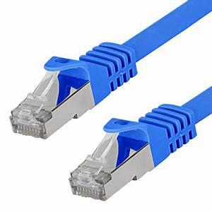 Lan Kabel Stecker : patchkabel cat 7 lan kabel rj45 stecker blau 20 m ~ Orissabook.com Haus und Dekorationen
