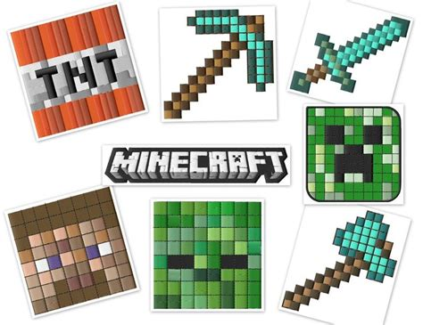 minecraft embroidery design minecraft gamer embroidery designs set 4x4 hoops gifts