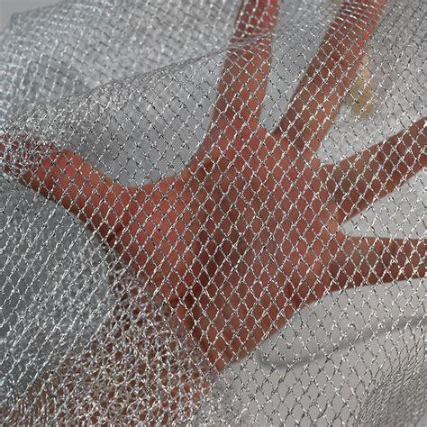 silver net mesh fabric warp knitting mesh fabric fishing