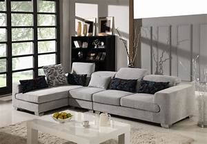 Capofila microfiber sectional set modern sectional for Modern sectional sofa in los angeles