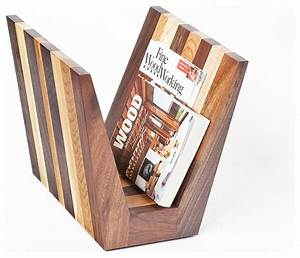 Magazine Rack by Cherrywood Studio - Contemporary