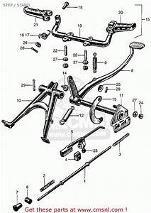 honda ct90 trail 90 k0 1966 usa parts lists car interior With honda ct90 trail 90 k0 1966 usa serial numbers schematic partsfiche