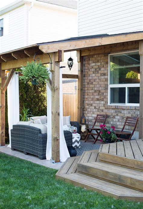 Backyard Patios by Hdblogsquad How To Build A Covered Patio Outdoor