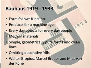 Atta Design Gcse Design Movements Bauhaus