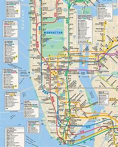 Plan De Manhattan : dossier sp cial transport new york m tro bus taxi ~ Melissatoandfro.com Idées de Décoration