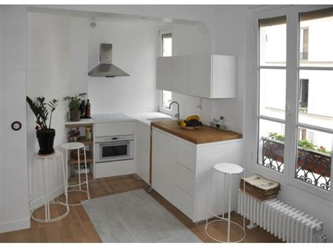 idee cuisine americaine appartement idée déco petit appartement location studios