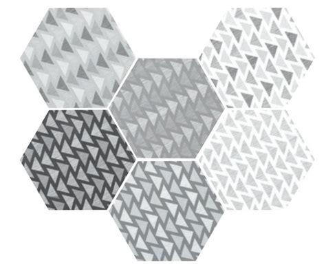 carrelage sol et mur c ciment imitation deco 2 hexagonal b w mate 17 5x20 carrelage