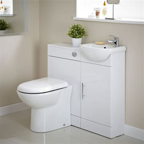 Cheap Vanity Units by Vanity Unit And Toilet Cloakroom Pack Image 5 Home