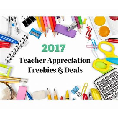 2017 Teacher Appreciation Week Freebies & Discounts