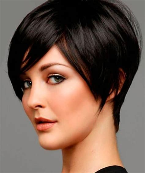 inspirations  short hairstyles  thick hair