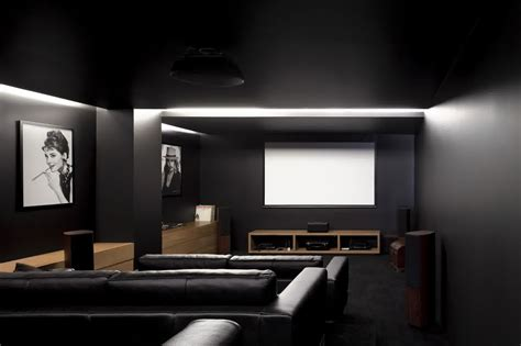 home theatre interiors fresh modern home theater tv stand 15007