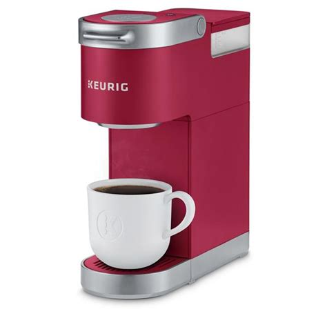 The 48 ounces coffee maker can serve 6 cups of coffee before refilling. Keurig 611247373095 Classic K-Mini Plus, Cardinal Red   Walmart Canada