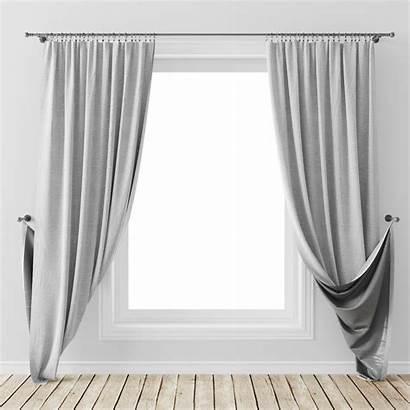Curtain 3d Models Curtains Max Turbosquid Furniture
