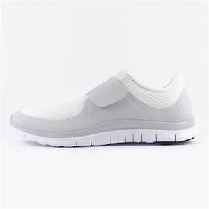 Mens Nike Free Soc Fly White Velcro Running Performance ...