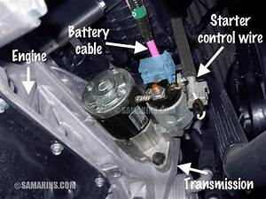 How To Change A Starter Motor On A Ford Transit