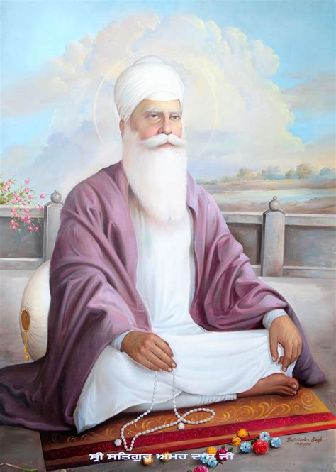 Sri Guru Amar Das Ji - KUKASIKHS.COM