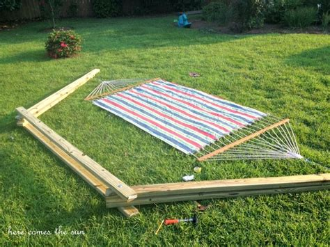 How To Make Your Own Hammock Stand by Make This Build A Diy Hammock Stand This Weekend