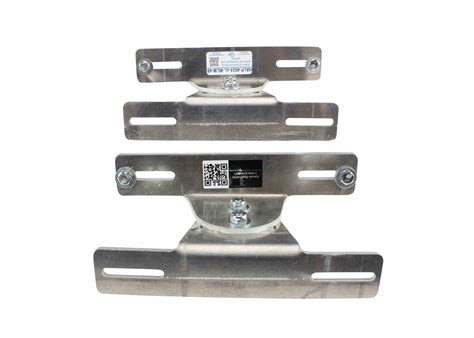 adjustable flat surface aluminum mounting brackets for