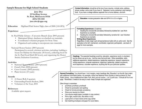 How To Write A Resume For Fair by 100 Fair New Resume Models For Resume Sle For High