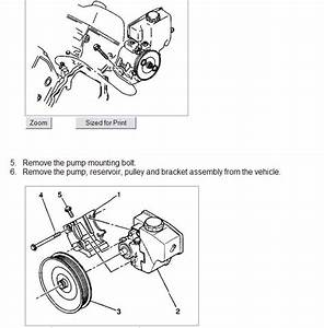 I Am Removing And Replacing The Power Steering Pump On My
