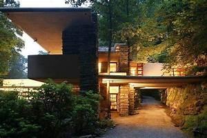 Frank Lloyd Wright Architektur : 503 besten fallingwater bilder auf pinterest frank lloyd wright architekten und architektur ~ Orissabook.com Haus und Dekorationen