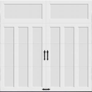 clopay coachman collection 9 ft x 8 ft 184 r value With 9x8 garage door home depot
