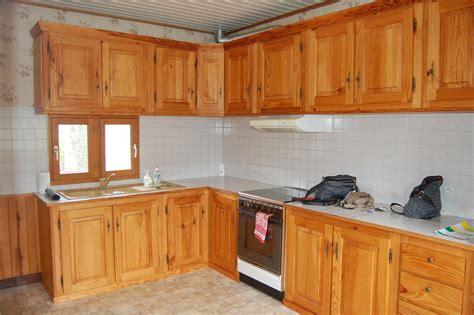 cuisine agréable placard cuisine bois massif meuble