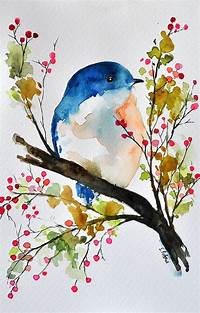 creative painting ideas 19 Incredibly Beautiful Watercolor Painting Ideas ...