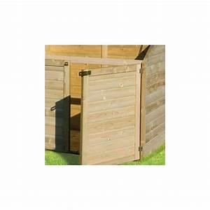 Coffre De Jardin En Bois : coffre en bois trait autoclave teint marron 1200l ~ Teatrodelosmanantiales.com Idées de Décoration