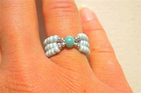 Items Similar To Turquoise Stretch Ring