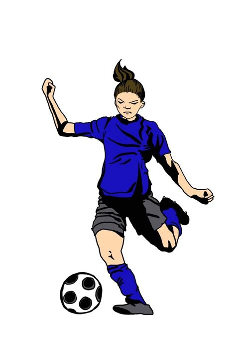 Soccer Player Clipart Soccer Players Pictures Clipart Best