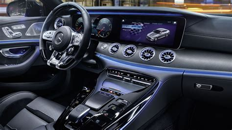 There are two configurations available, starting with two. Mercedes-AMG GT 4-Door Coupé: design