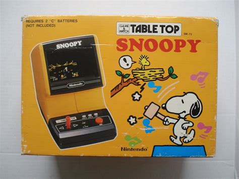coleco snoopy table top arcade games pinterest