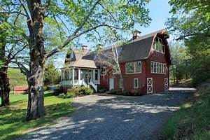 for sale an old red barn converted into a house With barns made into homes