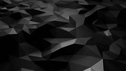 Dark Poly Pattern Low Bw Wallpapers 4k