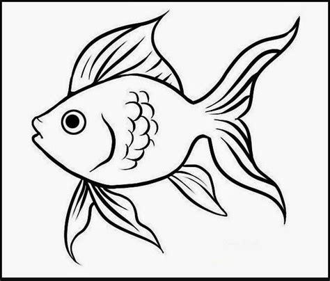 mewarnai gambar ikan kartun