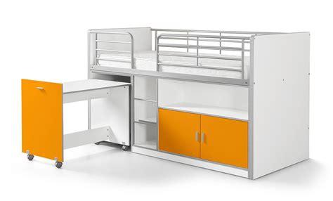 Hochbett Mit Schreibtisch Und Schrank Kinderzimmmer