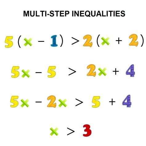 Multistep Inequalities On A Number Line