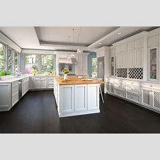 Providence White  Ready To Assemble Kitchen Cabinets
