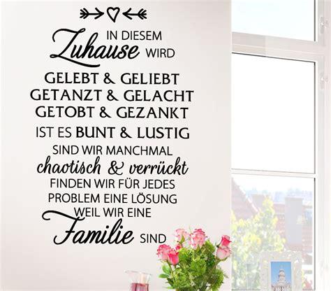 Steinofen Für Zuhause by Wandtattoo Spruch In Diesem Zuhause Wird G134 Grandora De