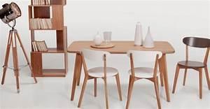 Table Style Scandinave : une table de repas style scandinave joli place ~ Teatrodelosmanantiales.com Idées de Décoration