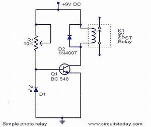 Photo Relay Circuit
