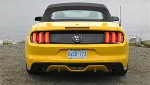 2015 Ford Mustang Convertible EcoBoost Premium Test Drive Review
